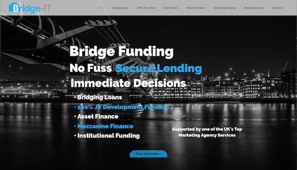 Sennett-Media-bridge-it-lend-website-sample