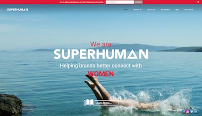 Sennett-Media-we-are-superhuman-website-sample