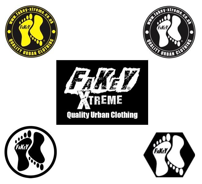 sennett-media-fakey-xtreme-clothihng-logos